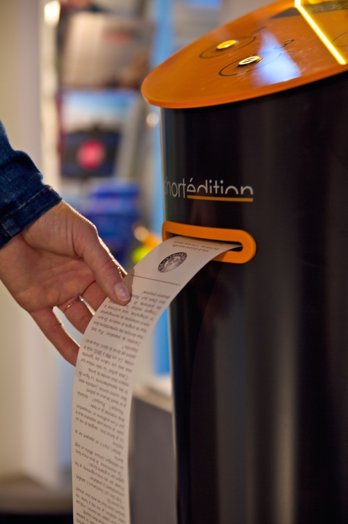 GOOD.IS: Instead of Snacks, This Vending Machine Spits Out Short Stories